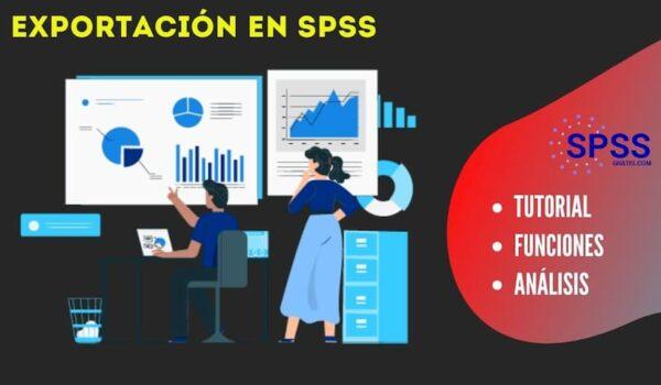 exportacion datos spss